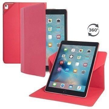 iPad Pro 9.7 Tucano Giro Pyörivä Suojakotelo Punainen