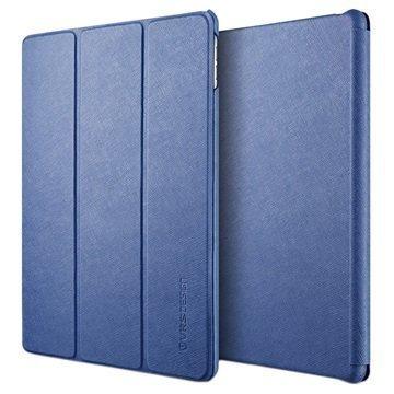 iPad Pro 9.7 VRS Design Saffiano K1 Läppäkotelo Tummansininen