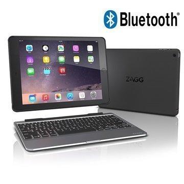 iPad Pro 9.7 Zagg Slim Book Bluetooth Keyboard Case Black