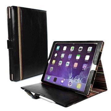 iPad Pro Alston Craig Nahkakotelo Musta