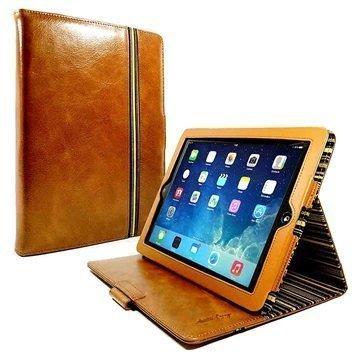 iPad Pro Alston Craig Nahkakotelo Ruskea