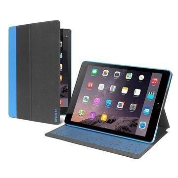 iPad Pro Cygnett Tekshell Slim Folio Kotelo Musta / Sininen