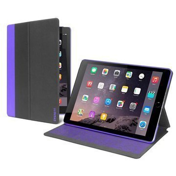 iPad Pro Cygnett Tekshell Slim Folio Kotelo Musta / Violetti