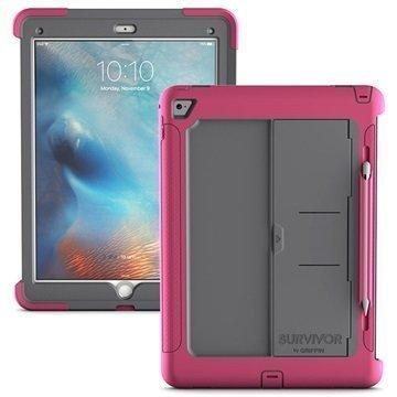 iPad Pro Griffin Survivor Slim Suojakuori Musta / Sininen