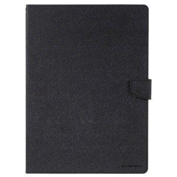 iPad Pro Mercury Goospery Fancy Diary Folio Kotelo Musta