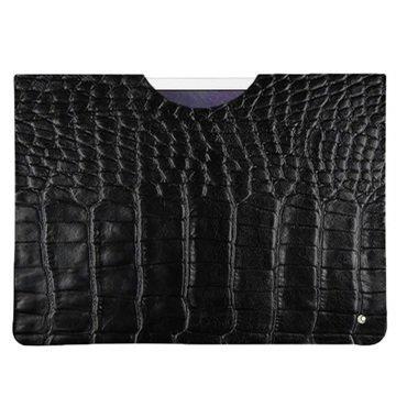 iPad Pro Noreve Tradition C Nahkainen Suojakotelo Horizon Crocodile Musta