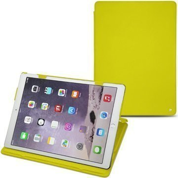 iPad Pro Noreve Tradition Nahkakotelo Pulsion Fluo Keltainen