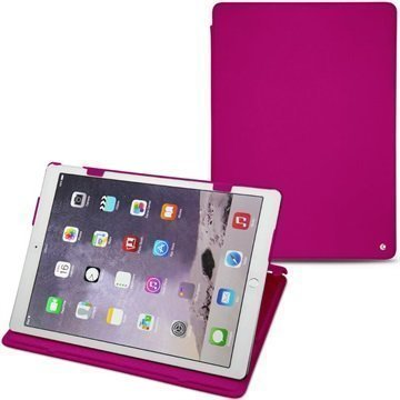 iPad Pro Noreve Tradition Nahkakotelo Pulsion Fluo Pinkki