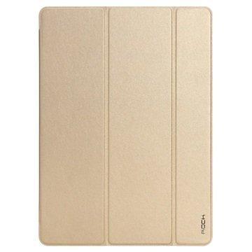 iPad Pro Rock Touch Series Smart Tri-Fold Suojakotelo Kulta