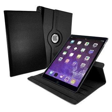 iPad Pro Tuff-luv Pyörivä Smart Kotelo Musta