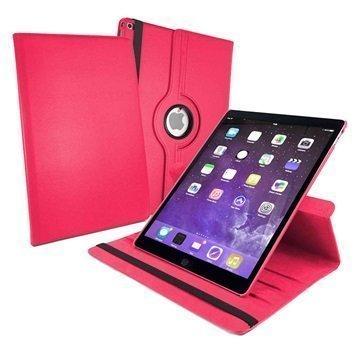 iPad Pro Tuff-luv Pyörivä Smart Kotelo Pinkki