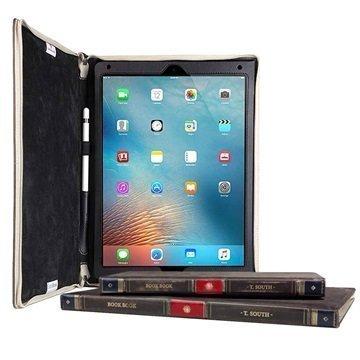 iPad Pro Twelve South BookBook Nahkainen Suojakotelo Ruskea