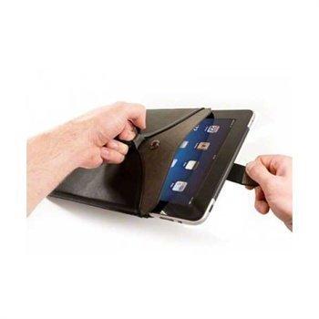 iPad Veggie Faux Nahkakotelo Musta