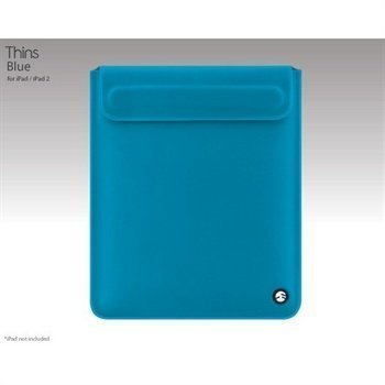 iPad / iPad 2 / iPad 3 SwitchEasy Thins Suojakotelo Blue