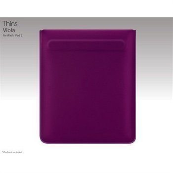 iPad / iPad 2 / iPad 3 SwitchEasy Thins Suojakotelo Purple