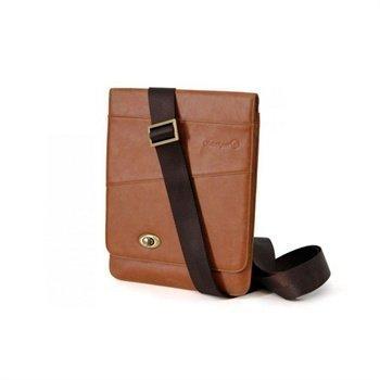 iPad iPad 2 iPad 3 iPad 4 Waterkant Strandgold Leather Case Brown