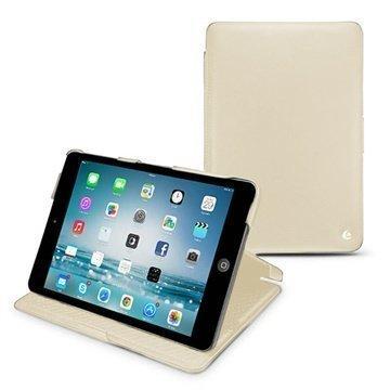 iPad mini 2 iPad mini 3 Noreve Tradition Läpällinen Nahkakotelo Beige