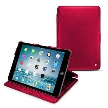 iPad mini 2 iPad mini 3 Noreve Tradition Läpällinen Nahkakotelo Punainen
