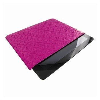 iPad mini 2 iPad mini 3 Piel Frama Pull Nahkakotelo Fuksianpunainen