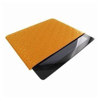 iPad mini 2 iPad mini 3 Piel Frama Pull Nahkakotelo Keltainen