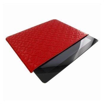 iPad mini 2 iPad mini 3 Piel Frama Pull Nahkakotelo Punainen