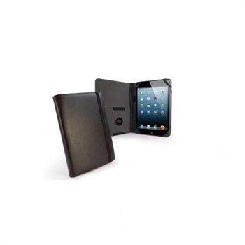 iPad mini 2 iPad mini 3 Tuff-Luv Embrace Plus Nahkakotelo Musta