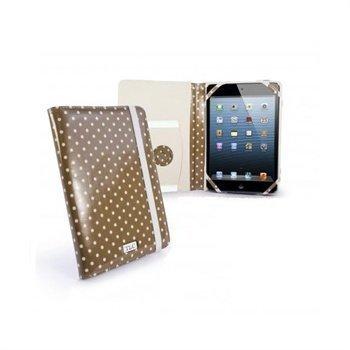 iPad mini 2 iPad mini 3 Tuff-Luv Embrace Plus Pilkullinen Kotelo Beige