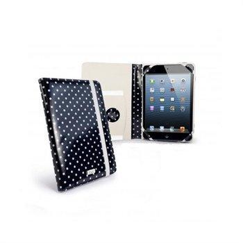 iPad mini 2 iPad mini 3 Tuff-Luv Embrace Plus Pilkullinen Kotelo Musta