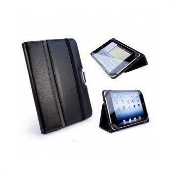 iPad mini 2 iPad mini 3 Tuff-Luv Type-View Nahkakotelo Musta