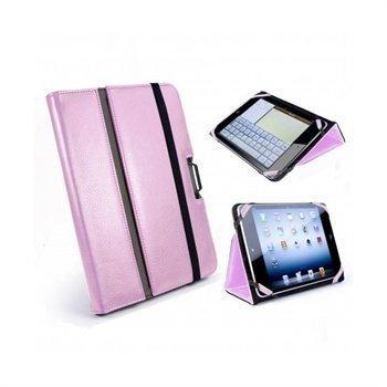 iPad mini 2 iPad mini 3 Tuff-Luv Type-View Nahkakotelo Pinkki