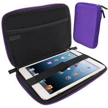 iPad mini 2 iPad mini 3 iGadgitz Eva Kuljetuskotelo Violetti