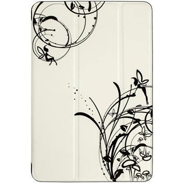 iPad mini 2 iPad mini 3 iGadgitz Fairy Butterfly Case White / Black