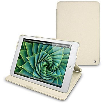 iPad mini Noreve Tradition B Leather Case Ivory