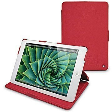 iPad mini Noreve Tradition B Leather Case Tomate