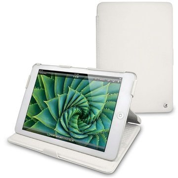 iPad mini Noreve Tradition B Leather Case White