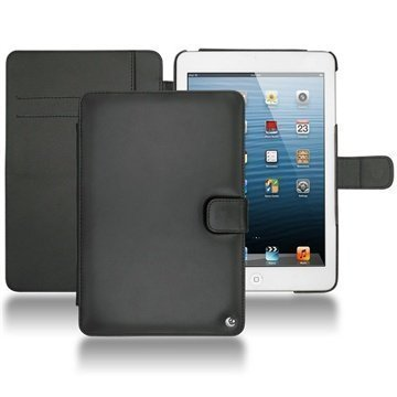 iPad mini Noreve Tradition Wallet Leather Case Black