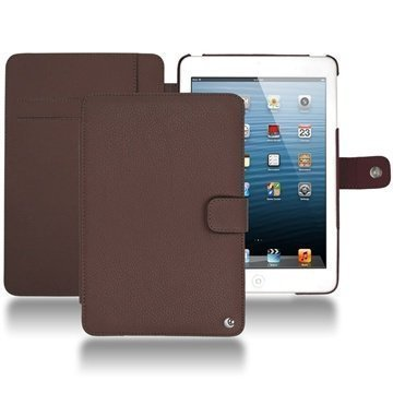 iPad mini Noreve Tradition Wallet Leather Case Chestnut