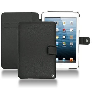 iPad mini Noreve Tradition Wallet Leather Case Ebony