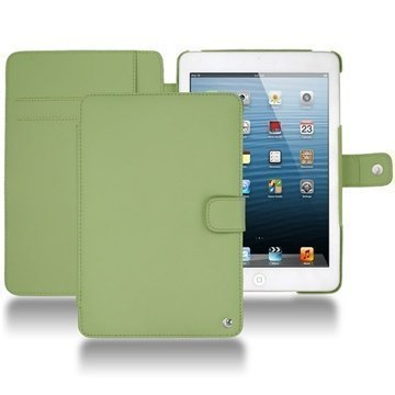 iPad mini Noreve Tradition Wallet Leather Case Green
