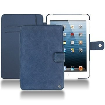 iPad mini Noreve Tradition Wallet Leather Case Jean Vintage