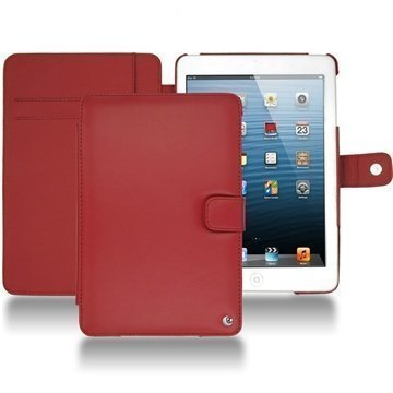 iPad mini Noreve Tradition Wallet Leather Case Red