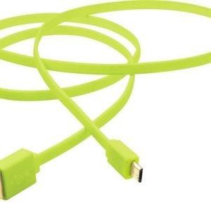 iZound Micro-USB Green 30cm