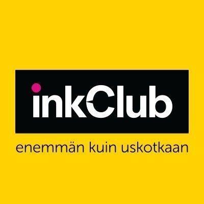 inkClub Colorstix keltainen 3-pakkaus 3.400sivua