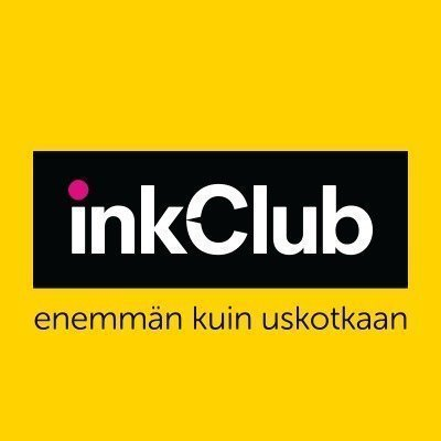 inkClub Väriaine musta