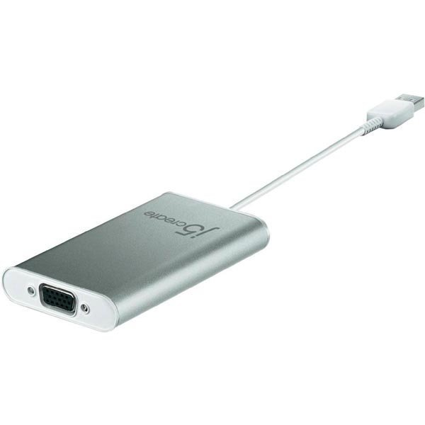j5 create JUA210 - USB 2.0 - VGA-sovitin ulkoinen näytönohjain